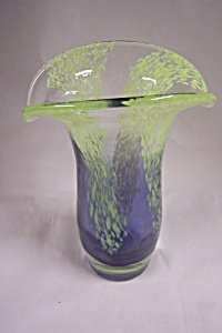 Murano Handblown Cased Art Glass Vase (Image1)