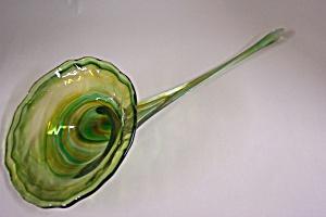Arkansas Handblown Cased Art Glass Horn Of Plenty (Image1)