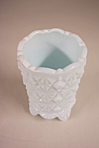 Daisy & Button Milk Glass Toothpick Holder (Image1)