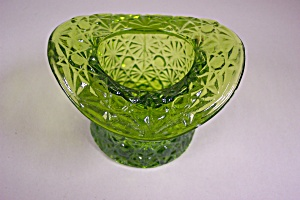 Smith Daisy & Button Handmade Green Art Glass Hat (Image1)