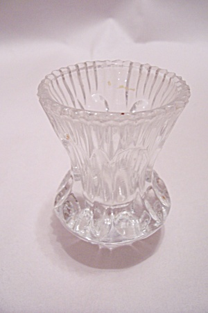 West German Lead Crystal Toothpick Holder