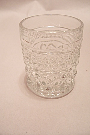 Wexford (?) Crystal Glass Toothpick Holder