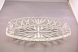 Anchor Hocking Crystal Glass Relish Dish (Image1)