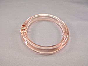 Vintage Light Pink Glass Pull Ring (Image1)