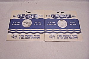 Set Of 2 View-Master Reels On Kentucky (Image1)