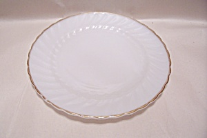 "Fireking Golden Shell 10"" Dinner Plate"