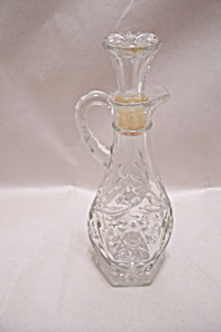Anchor Hocking Early American Prescut Cruet #711 (Image1)