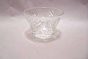 "Eapc 3-1/2"" Footed Crystal Glass Sherbet"