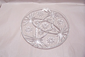 """EAPC 13-1/2""""  Crystal Glass Serving Plate (Image1)"""
