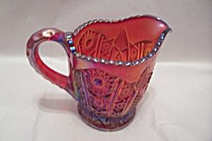 Indiana Carnival Amberina Glass Creamer (Image1)