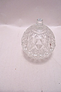 Indiana Crystal  Glass Whitehall  Small Lidded Dish (Image1)
