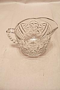 Prescut Pineapple Crystal Glass Creamer (Image1)