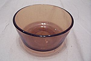 Fireking Amber Glass 6 Oz. Custard Cup
