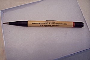 Vintage Advertising  Brown-Tex Mechanical Pencil (Image1)