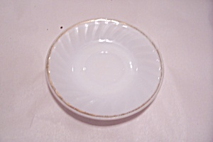 Fireking Shell Saucer