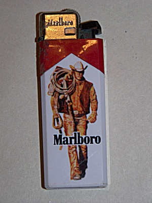 Marlboro Advertising Pocket Lighter