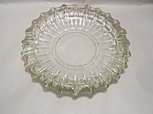 Vintage Huge Crystal Glass Ashtray (Image1)