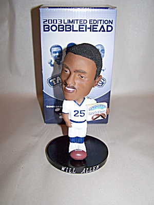 Will Allen Football Player Bobblehead (Image1)