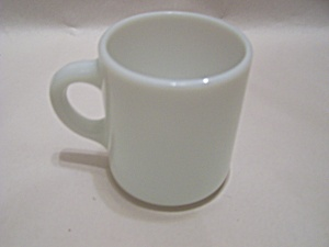 FireKing Anchor Hocking Milk Glass Stackable Mug (Image1)