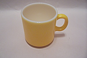 FireKing Yellow Glass Mug (Image1)