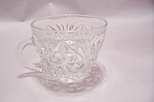 Anchor Hocking Pineapple Pattern Punch Cup