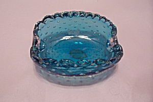 Murano Handblown Cased Art Glass Folded Bowl