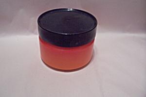 Orange Lidded Glass Jar/Cannister (Image1)