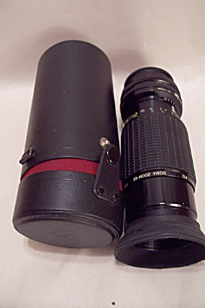 SIGMA  Zoom KII f=70-210 mm Telephoto Lens (Image1)