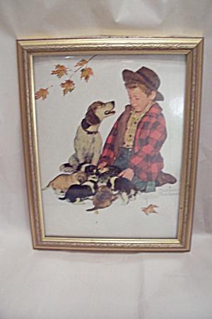 Norman Rockwell Framed Print (Image1)