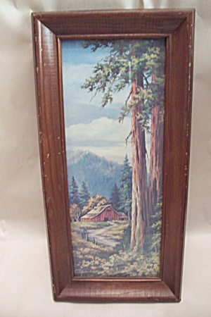 California Coastal Redwood Scenic Print (Image1)
