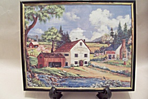 Rural Country Scene Print (Image1)