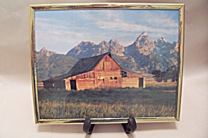 Old Barn In Mountains Photograph (Image1)