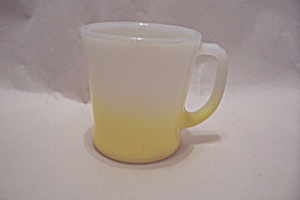 FireKing Yellow Trimmed Mug (Image1)