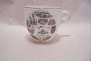 FireKing California Souvenir Cup (Image1)
