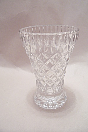 Lead Crystal Glass Toothpick Holder