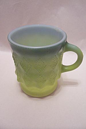 FireKing Kimberly Two-Tone Green Mug (Image1)
