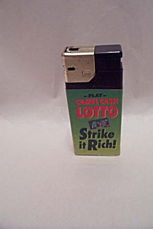 Camel Cash Lotto Pocket Lighter