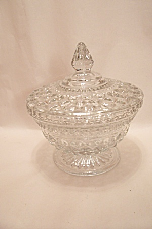 Wexford Pattern Candy Dish W/Lid (Image1)