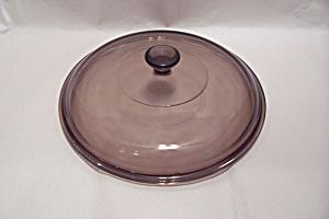 Pyrex Smoky Topaz Casserole Lid (Image1)