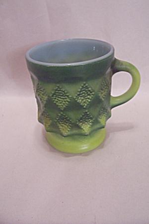 FireKing Two Tone Green Mug (Image1)