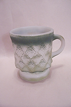 Fireking Kimberly Green & White Mug