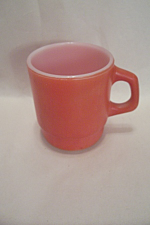 FireKing Orange Stackable Mug (Image1)