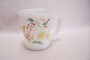 FireKing Handpainted Abstract Motif Mug (Image1)