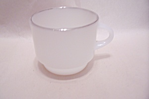 Fireking/anchor Hocking Vienna Lace Cup