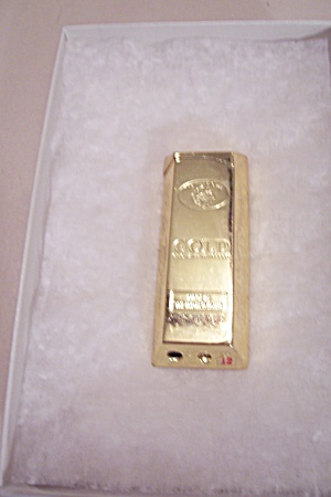 Gold Bar Gas Pocket Lighter