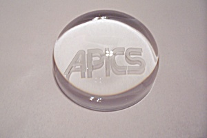 Aipcs Crystal Glass Paperweight