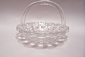Crystal Art Pattern Glass Basket (Image1)
