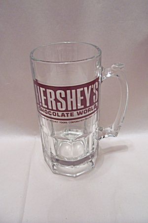 "Hershey""s Crystal Glass Advertising Beer Mug"