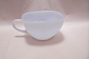 Fireking/anchor Hocking Light Blue Square Cup