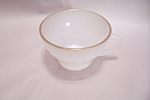 Anchor Hocking/FireKing Suburbia Cup & Saucer Set (Image1)